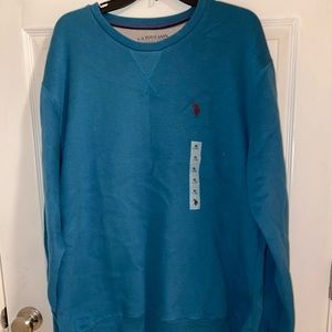 US POLO ASSN Teal XXL Pullover Sweater